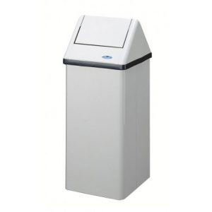 FROST Swing Top Waste Receptacle – white – 301NL