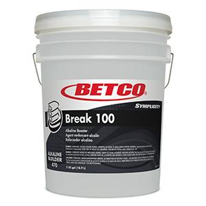 BETCO Symplicity Break 100, Alkaline Builder – 5 gallon