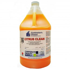 Citrus Clean Cleaner/Degreaser – 4L