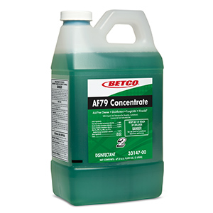 BETCO Fastdraw AF79 Disinfectant Cleaner – 2L