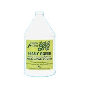 SENSIBLY CLEAN Foamy Green Hand Soap – 4L