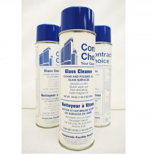 CONTRACTORS CHOICE Foaming Glass and Mirror Cleaner – 19oz can