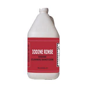 Iodine Rinse Aid – 4L