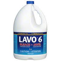 LAVO 6% Bleach – 5.38L