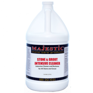 MAJESTIC Stone and Grout Intensive Cleaner – 1 gallon