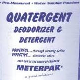 METERPAK Detergent/Disinfectant (#120) – 1/2oz x 150 per tub