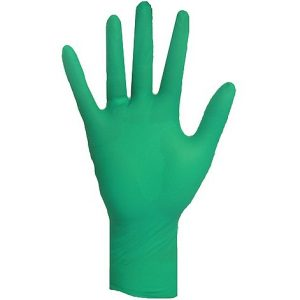Ronco 5Mil Nitrile Gloves, Green 100/BX