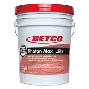 BETCO Photon Max Floor Finish – 5 gallon