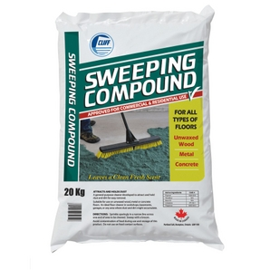 Sweeping Compound, Silica Free – 50lb bag
