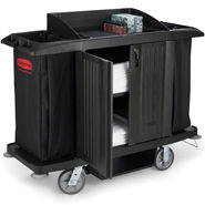 RUBBERMAID Executive Housekeeping Carts *Special Order*