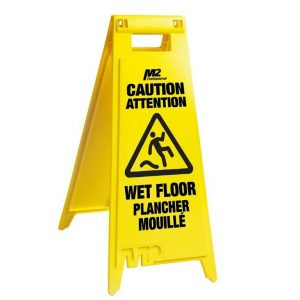 Wet Floor Sign – folding