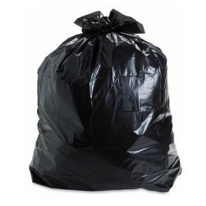 50 X 50 BLACK, Extra Strong Garbage Bags- 100 per case