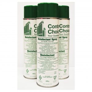 CONTRACTORS CHOICE Disinfectant Spray – aerosol can