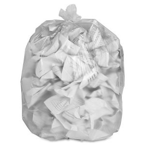 20 X 22 CLEAR, Regular Garbage Bags- 500 per case