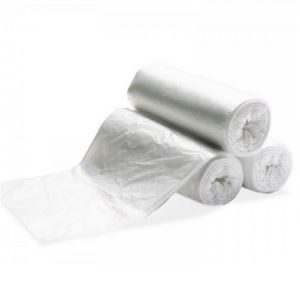 20 x 22 CLEAR Roll Garbage Bags – 1000 per case