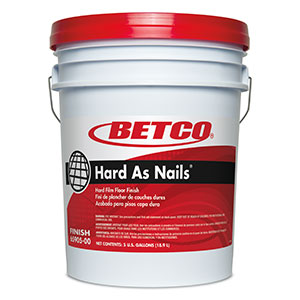BETCO Hard As Nails Floor Finish – 5 gallon