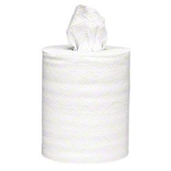 KC Centerflow Wiper, white (05796) – 2 rolls per case