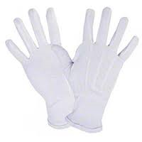 RONCO Parade Glove- White with Elastic Wrist