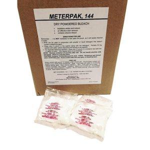 METERPAK Dry Powder Bleach (#144) – 1/2oz x 150