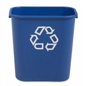 RUBBERMAID Waste Recycling Receptacle