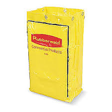 RUBBERMAID Cleaning Cart – zipper bag replacement