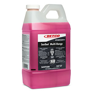 BETCO Fastdraw Sanibet  Multirange No Rinse Sanitizer – 2L