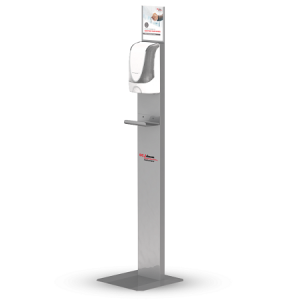 Touch Free Dispenser Stand- Sanitizing Station