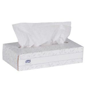 2 Ply Facial Tissue,  30 boxes x 100 sheets per case
