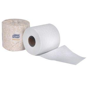 TORK Premium 2 Ply Bath Tissue, universal – 48 rolls x 460 sheets per case