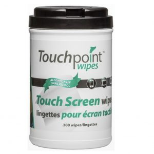 CERTAINTY Touch Screen Wipes- 200 per Tub
