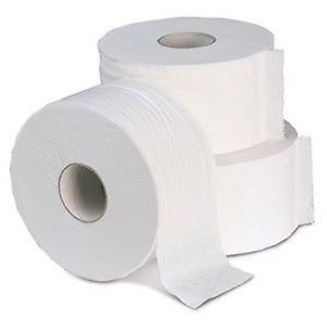 SOLID BOND Jumbo Toilet Tissue- 1ply, 8 x 2000 sheets per case