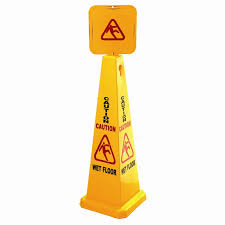 Wet Floor Cone – 3′ high