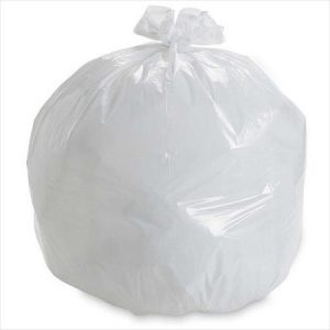 24 X 22 WHITE, Regular Garbage Bags – 500 per case
