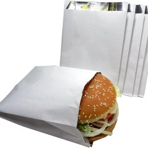 Foil Hamburger Bags 1000 per case (019038)