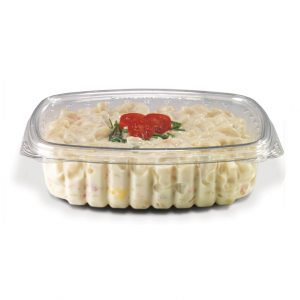 24oz CS24 Container Flat Lid Qty 200 (073447)