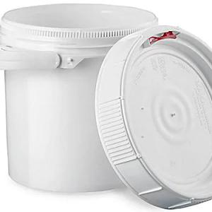 2.5 Gallon Pail Lid White
