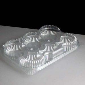 6 Tart Plastic Container