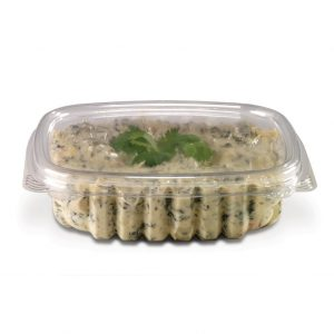 CS08 8oz Container With Flat Lid (073513)