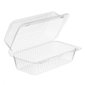 Clear Hinged Salad & Sandwich Container