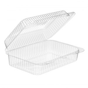 SLP40 Hinged Clear Container Qty 276