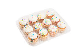 12 Mini Muffin Clamshell Qty 250 (073946)