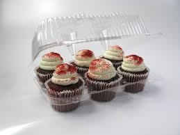 6″ High Top Cupcake Hinged 2020 Qty 200 (066601)